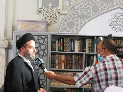 تصاویر/ مراسم بزرگداشت آیت الله العظمی حکیم در مدرسه عالی شهید مطهری