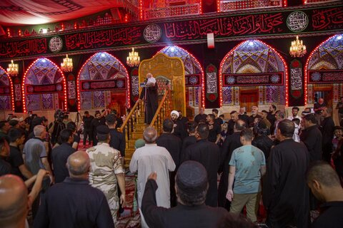 عزاداری شهادت امام حسن مجتبی (ع) در کربلای معلی