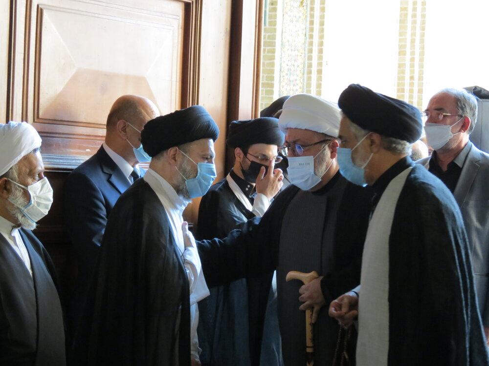 تصاویر/ مراسم بزرگداشت مرحوم آیت الله العظمی حکیم در مدرسه عالی شهید مطهری