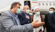 رئیس مجلس وارد مازندران شد