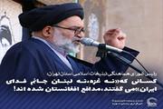 عکس نوشت | کسانی که«نه غزه،نه لبنان جانم فدای ایران»می گفتند،مدافع افغانستان شده اند!