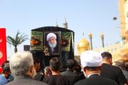 تصاویر / مراسم تشییع پیکر مرحوم آیت الله شریفی اشکوری