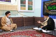 تصاویر / دیدار وزیر اطلاعات با حضرت آیت الله علوی گرگانی