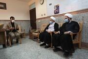تصاویر/ بازدید دبیرکل مجمع جهانی تقریب مذاهب اسلامی از مرکز داده اینترنتی امین