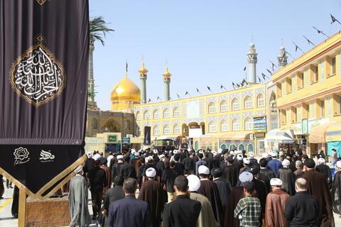 تصاویر / مراسم تشییع پیکر حضرت آیت الله شریفی اشکوری