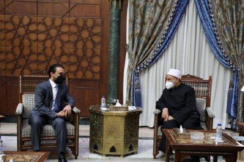 شیخ الازهر و الحلبوسی رئیس پارلمان عراق
