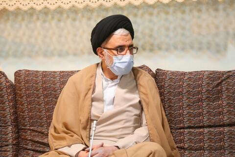 تصاویر / دیدار وزیر اطلاعات با آیت الله العظمی علوی گرگانی