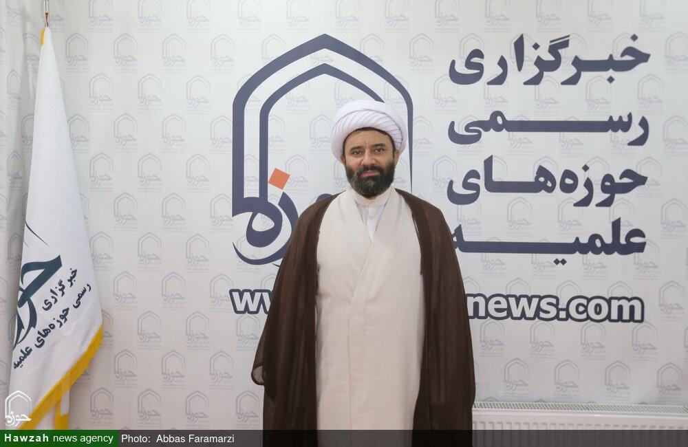 مدیر حوزه علمیه کردستان از خبرگزاری حوزه بازدید کرد + عکس