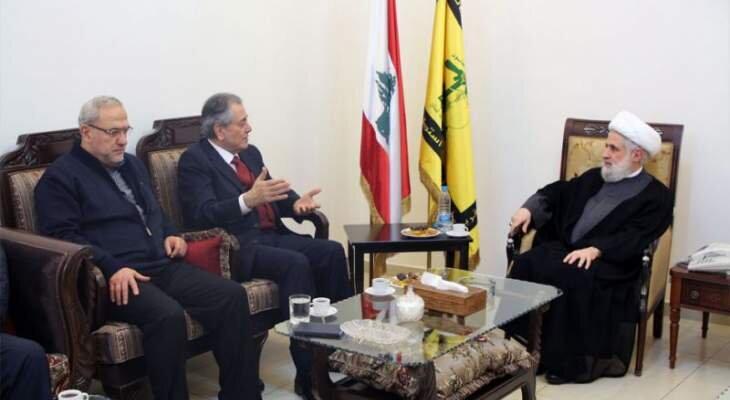 بازگشت روابط لبنان و سوریه به روال سابق ضرورت دارد