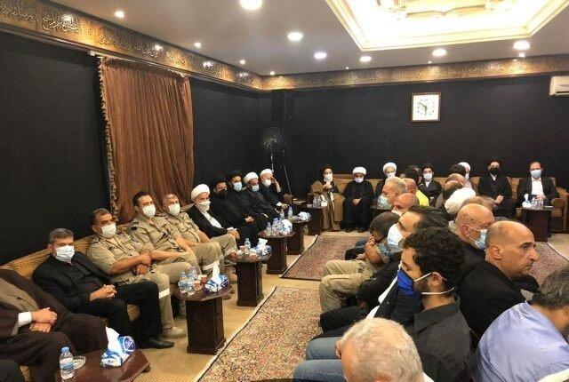تصاویر/ مراسم بزرگداشت آیت الله العظمی حکیم در دفتر آیت الله العظمی سیستانی در لبنان