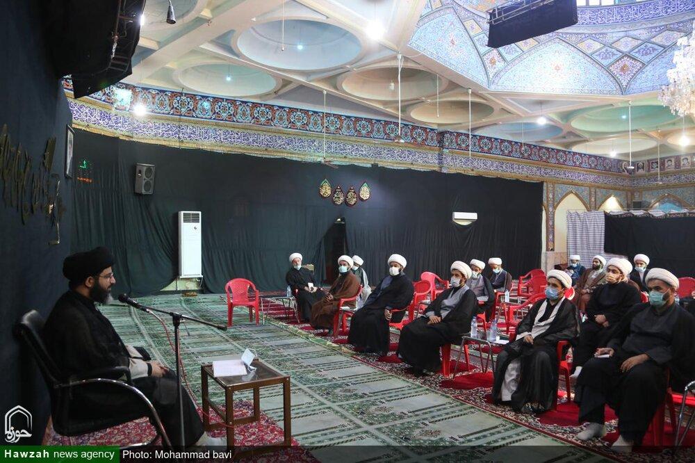 تصاویر/ اجلاسیه معاونین آموزش مدارس علمیه خوزستان