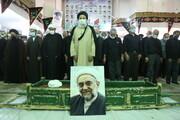 تصاویر / مراسم تشییع پیکر حجت الاسلام والمسلمین علیرضا رحیمی ثابت