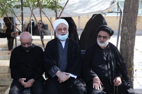 تصاویر / مراسم تشییع پیکر حجت الاسلام والمسلمین حاج شیخ علیرضارحیمی ثابت