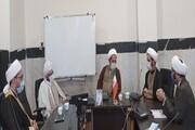نشست مدیر حوزه علمیه کرمانشاه با ائمه جمعه اهل سنت