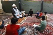 ابتکار امام پایگاه اجتماعی یکی از محلات هرسین + عکس