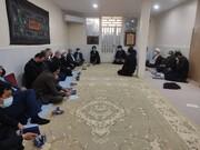 دیدار وزیر نفت با نماینده ولی فقیه در خوزستان + عکس
