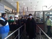 بازدید میدانی نماینده ولی فقیه در خوزستان از مرز شلمچه + عکس