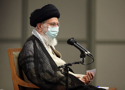 فیلم کامل بیانات رهبر معظم انقلاب در دیدار مدالآوران ایران در رقابتهای المپیک و پارالمپیک توکیو