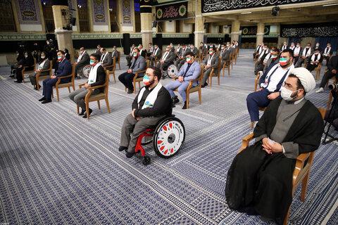 دیدار قهرمانان المپیک و پارالمپیک ایران در بازیهای ۲۰۲۰ توکیو با رهبر معظم انقلاب