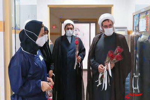 تقدیر مدیرکل مرکز خدمات حوزه علمیه البرز از مدافعان سلامت