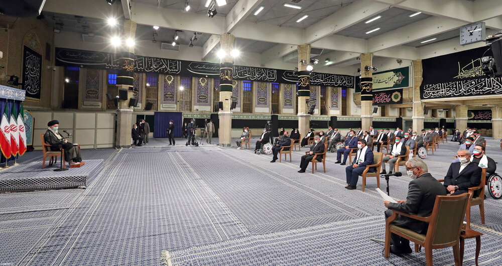 تصاویر/ دیدار قهرمانان المپیک و پارالمپیک ایران در بازیهای ۲۰۲۰ توکیو با رهبر معظم انقلاب