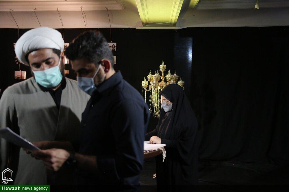تصاویر/ آماده سازی برنامههای تلویزیونی اربعین در خوزستان