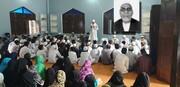 عالم زندہ رہتا ہے خواہ اس دنیا سے رحلت فرما جائے، مولانا شیخ شمشیر علی مختاری
