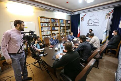 تصاویر/ نشست خبری پویش طلاب و فضای مجازی