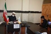 آزمون حافظین قرآن حوزه علمیه کرمانشاه برگزار شد + عکس