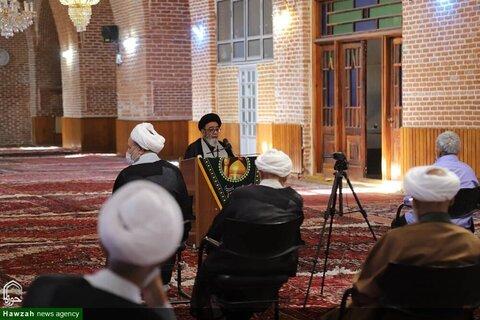 بالصور/ درس البحث الخارج للفقه لممثل الولي الفقيه في محافظة أذربيجان الشرقية