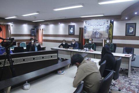 نشست خبری کمیته نیروهای مسلح ستاد بزرگداشت هفته دفاع مقدس استان قم