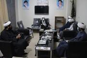 برنامه های حوزه علمیه بوشهر در هفته دفاع مقدس