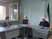 تصاویر/ برنامه های نمایندگان دفتر اجتماعی و سیاسی حوزه های علمیه در آذربایجان شرقی