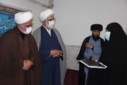 تصاویر / تجلیل از طلاب جهادی حوزه علمیه برادران و خواهران قزوین
