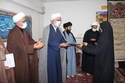 طلاب جهادی قزوین تجلیل شدند | تقدیر از کادر درمان + عکس