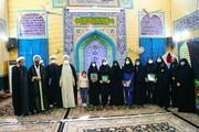 تصاویر / تقدیر از پرسنل و طلاب جهادی بیمارستان فرقانی قم