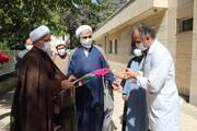 تصاویر/ تجلیل از کادر درمان و مدافعان سلامت بیمارستان بوعلی سینا قزوین