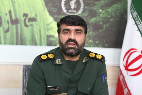 تصاویر / نشست خبری مسئول سازمان بسیج سازندگی استان قم به مناسبت هفته دفاع مقدس