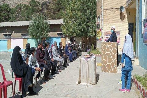 تصاویر/ امام جمعه بیستون در آئین گرامیداشت هفته دفاع مقدس و بازگشایی مدارس