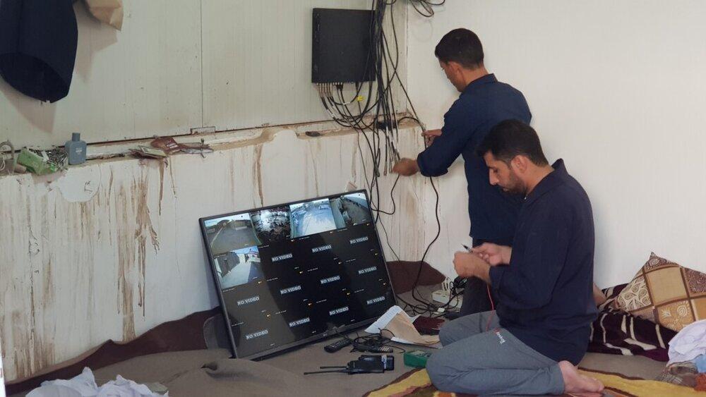 تصاویر/ آمادهسازی موکب حرم حضرت معصومه(س) برای میزبانی از زائران