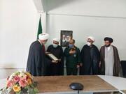 تجلیل از روحانیون پیشکسوتان دفاع مقدس در تبریز