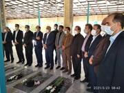 مسئولان قضایی استان فارس با شهدا تجدید میثاق کردند