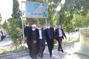 تصاویر| تجدید میثاق مسئولان قضایی استان فارس با شهدای دفاع مقدس
