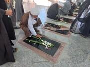 تصاویر/ تجدید میثاق روحانیت استان ایلام با شهدا به مناسبت هفته دفاع مقدس