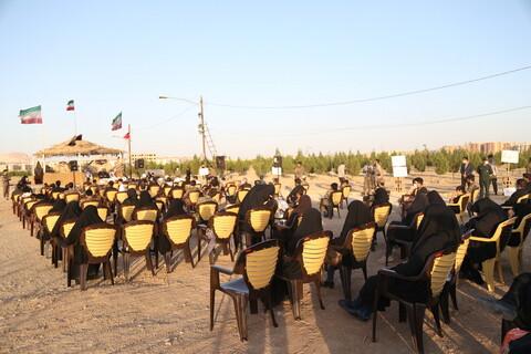 تصاویر / مراسم گرامیداشت هفته دفاع مقدس در جوار شهید گمنام مصلی پردیسان
