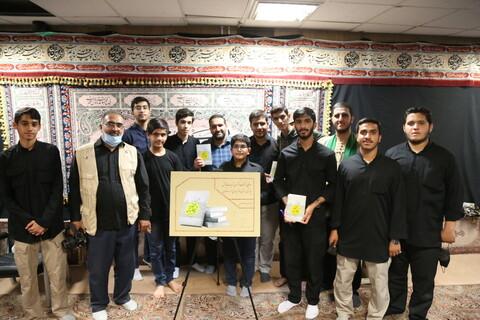 تصاویر / مراسم رونمایی از کتاب زندگینامه شهید مکیان در گلزار شهدای قم