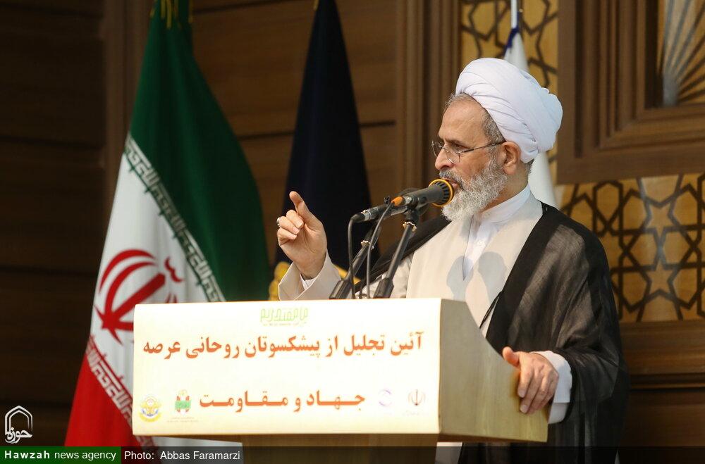 دفاع مقدس به انقلاب اسلامی ایران عمق بخشید/ ۱۰۰ پروژه علمی متناسب با نیازهای نظام اسلامی در حوزه در حال تولید است