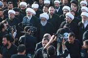 حضور آیتالله العظمی بشیر نجفی در پیادهروی اربعین + تصاویر