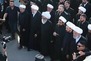 سنستمر على هذه الشعائر مهما كلفتنا هذه المسيرة وأن أعداء الحسين (ع) وأعداء الإنسانية والتأريخ عاجزون عن محو هذه الشعائر + صور