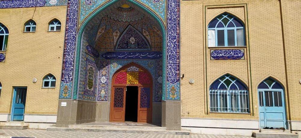 سال تحصیلی مدرسه علمیه حضرت زینب(س) دهدشت آغاز شد